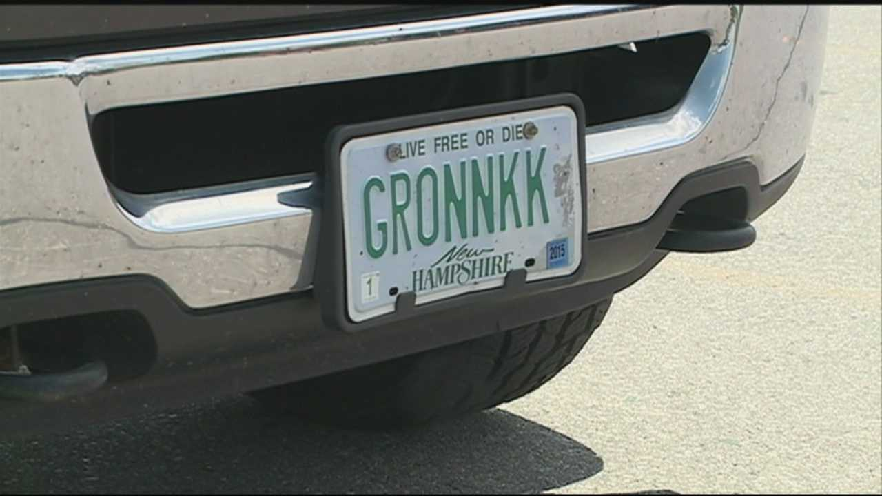 New rules implemented for vanity plates