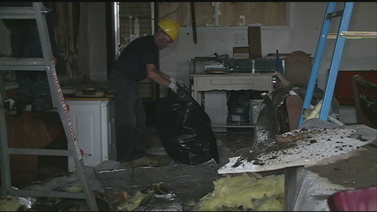 Nashua church cleaning up after fire