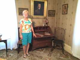 Ruth Albert, a seventh generation relative, moved into the home in 1956.