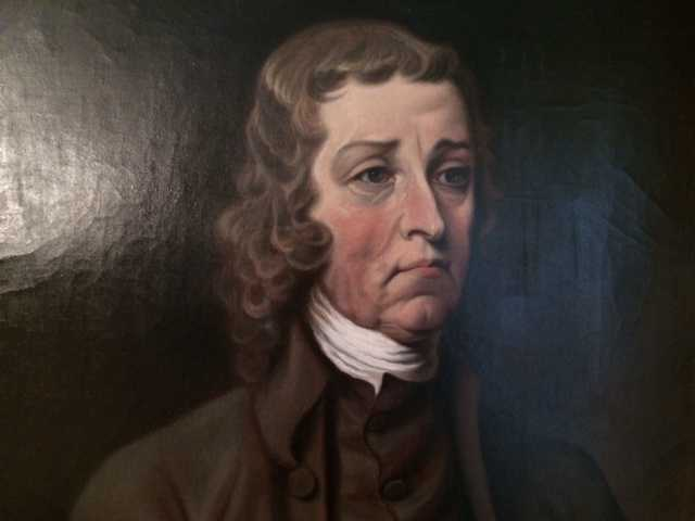 He was also New Hampshire's first Governor.