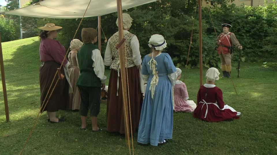 Colonial Living History Camp