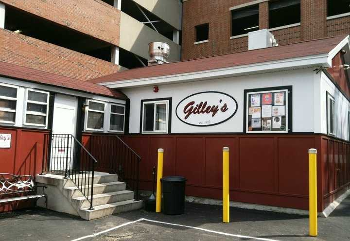 15 tie. Gilley's Diner in Portsmouth