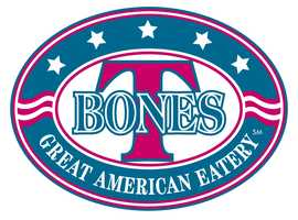 12 tie. T-Bones Great American Eatery with multiple locations