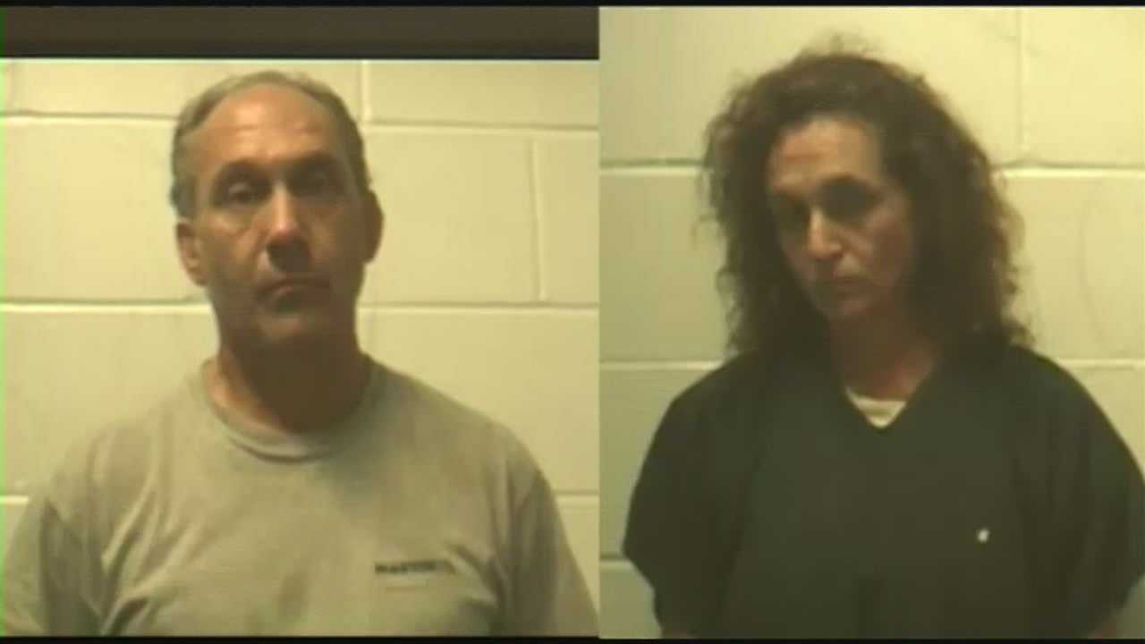 2 accused of making meth in Meredith home