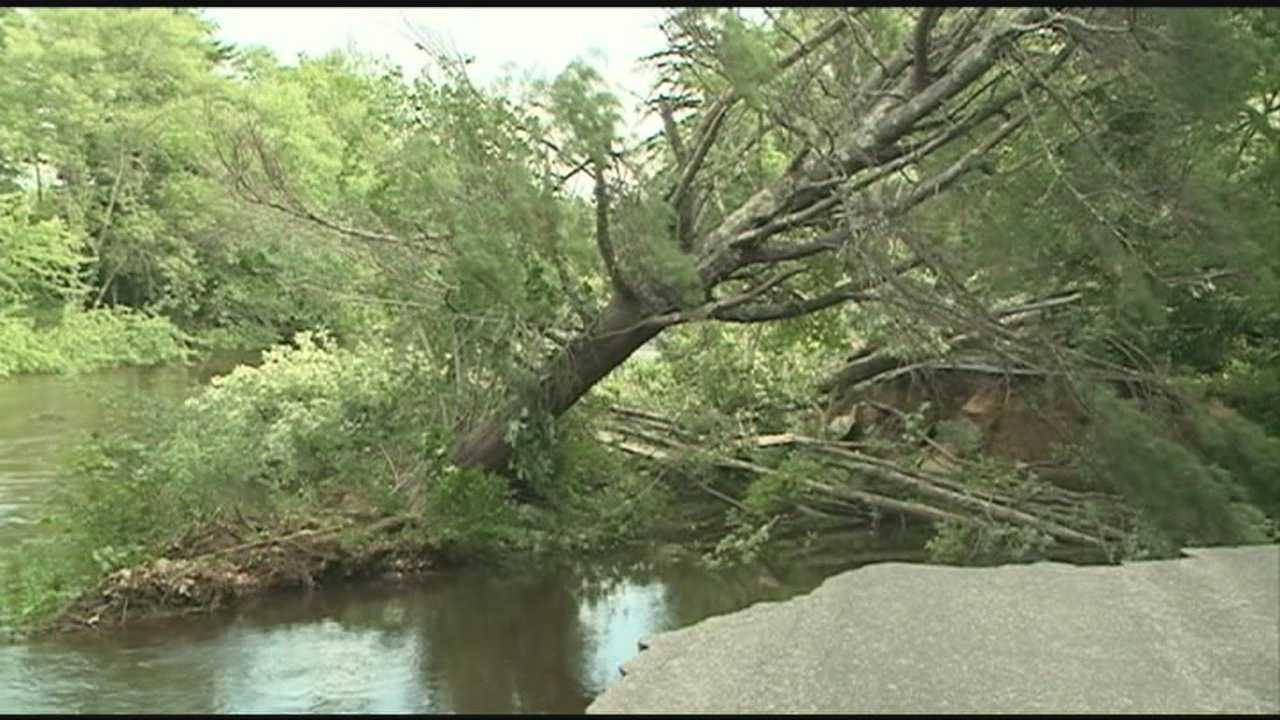 Emergency Management Surveys Damage in Winchester