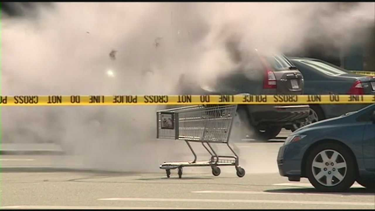 Suspicious package disrupted by bomb squad