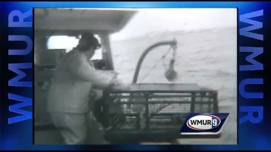 In this week's Throwback Thursday, we're featuring images of a lobsterman in the early 1970s.