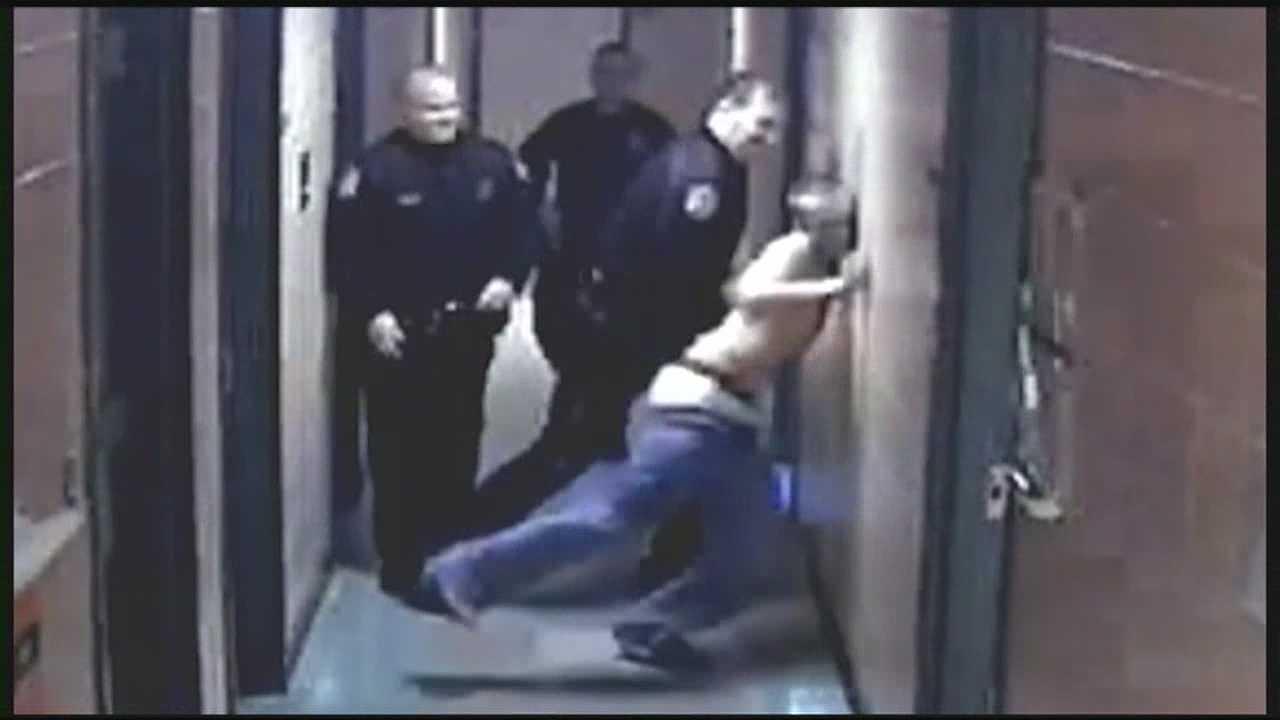 Victim's mother glad action taken against officers
