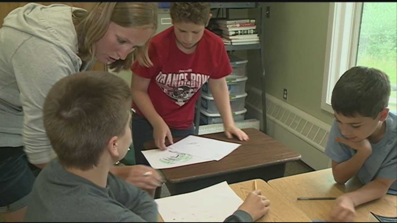 A school in New Hampshire is gaining national attention for its approach to dealing with ADHD.