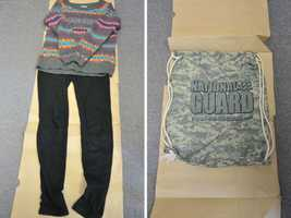 The girl returned home safely on July 20 after she went missing more than nine months prior. She was wearing the clothes pictured here.