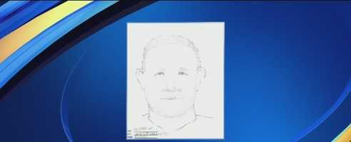 On July 24, officials release this sketch of a man who may have been involved in the girl's October 2013 disappearance.
