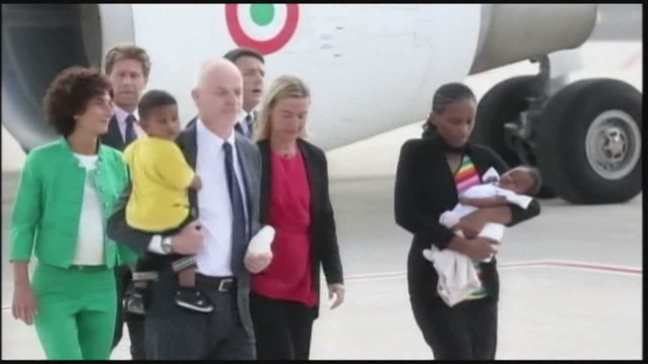Woman sentenced to death in Sudan safe in Italy
