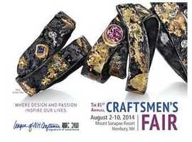 August 2-10 - 81st Annual Craftsmen's FairMore:http://events.wmur.com/81st_Annual_Craftsmen_s_Fair/200715106.html