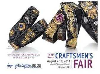 August 2-10 - 81st Annual Craftsmen's FairMore: http://events.wmur.com/81st_Annual_Craftsmen_s_Fair/200715106.html
