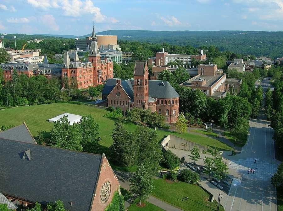 #24 (tie) Cornell University / New YorkCost of degree: $194,300 / Early career salary: $57,000/yr