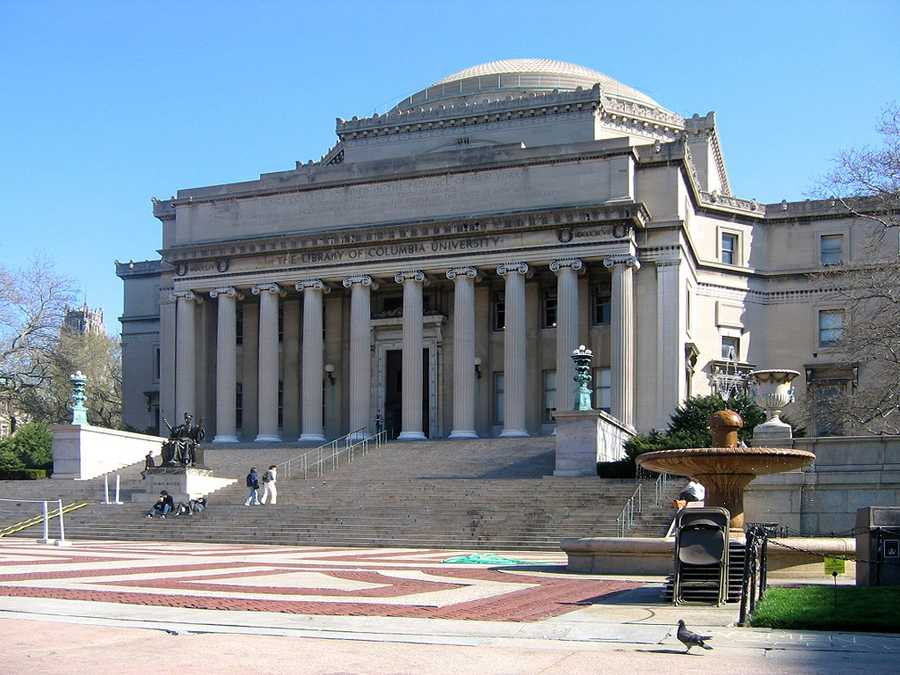 #22 (tie) Columbia University / New YorkCost of degree:  $206,800 / Early career salary:  $57,600/yr