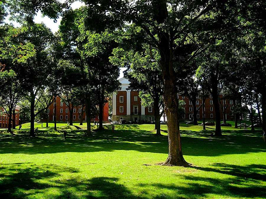 #17 Amherst College/MassachusettsCost of degree: $156,700 / Early career salary: $53,000/yr