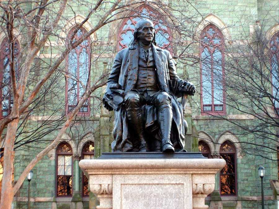 #11 University of PennsylvaniaCost of degree: $201,600 / Early career salary: $57,200/yr