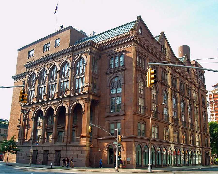 #8 Cooper Union for the Advancement of Science & Art / New YorkCost of degree: $146,800 / Early career salary: $61,400/yr