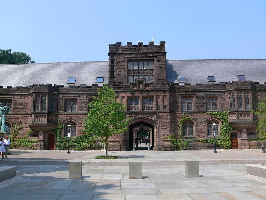 #4 Princeton University / New JerseyCost of degree: $146,200 / Early career salary: $56,100/yr