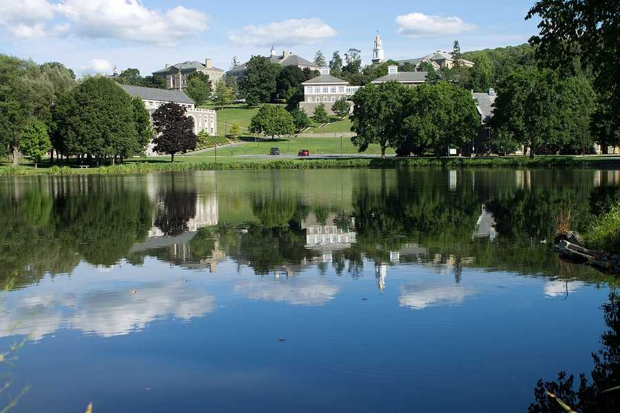 #27 Colgate University / New YorkCost of degree:  $186,500 / Early career salary:  $51,800/yr
