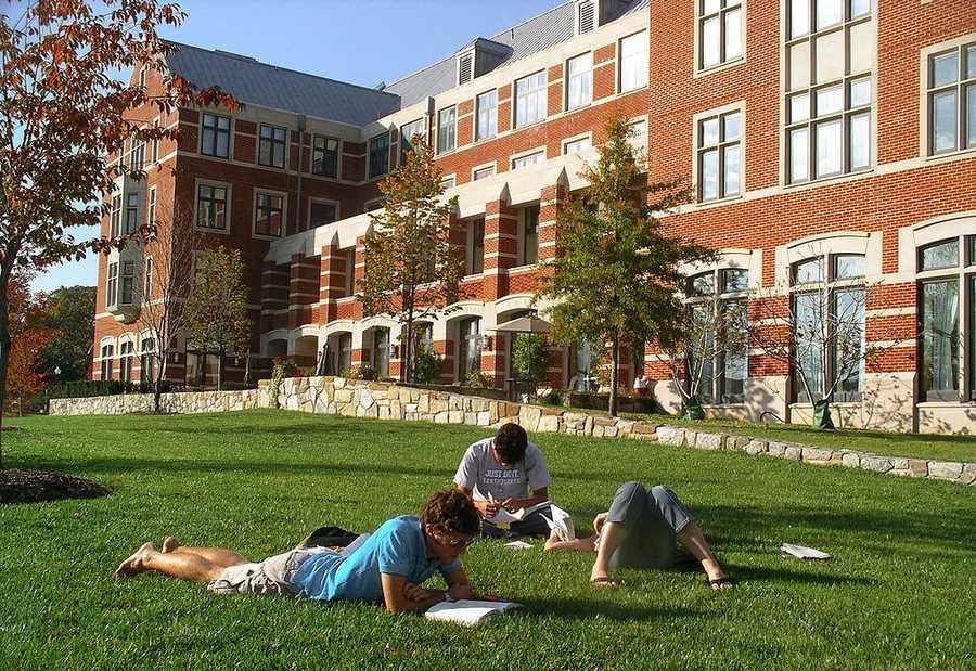 #37 (tie) Georgetown University / Washington, D.C.Cost of degree: $204,500 / Early career salary: $53,000/yr