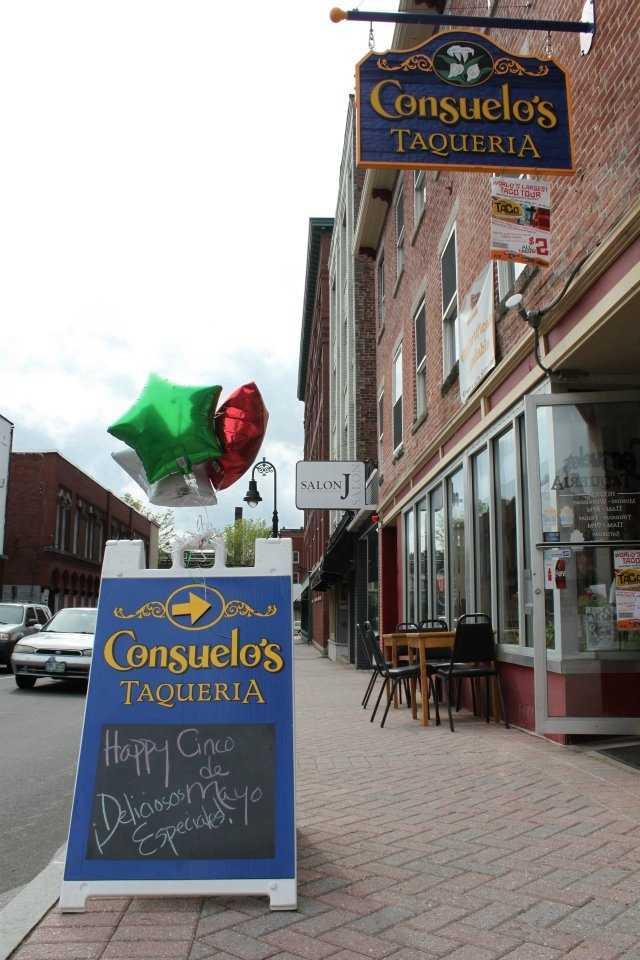 16 tie. Consuelo's Taqueria in Manchester