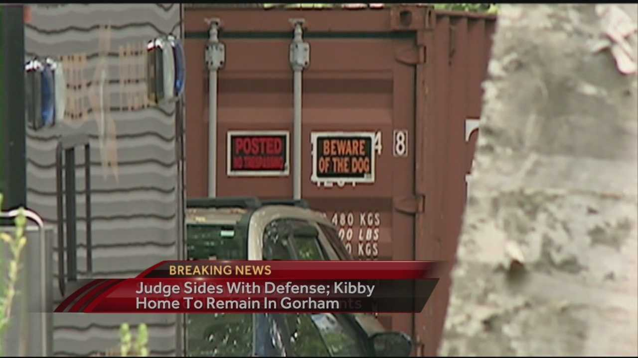 State ordered to keep Kibby's home in place