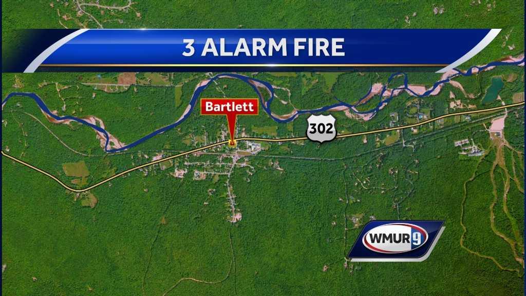 map-Bartlett fire