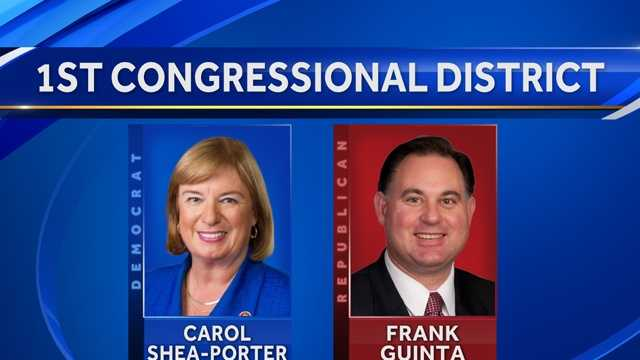 Republican Frank Guinta is challenging Rep. Carol Shea-Porter in the general election.