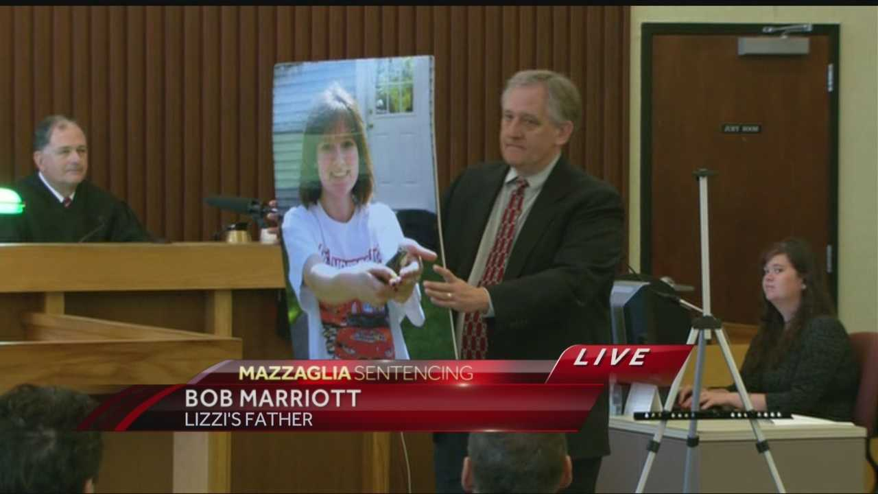 Raw Video: Lizzi Marriott's father delivers victim impact statement