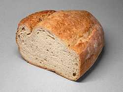 1.) White bread