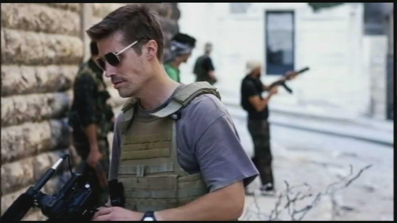 James Foley Vigil
