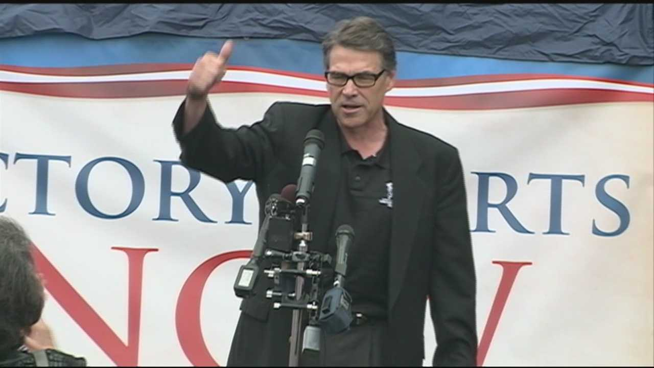 Rick Perry in NH