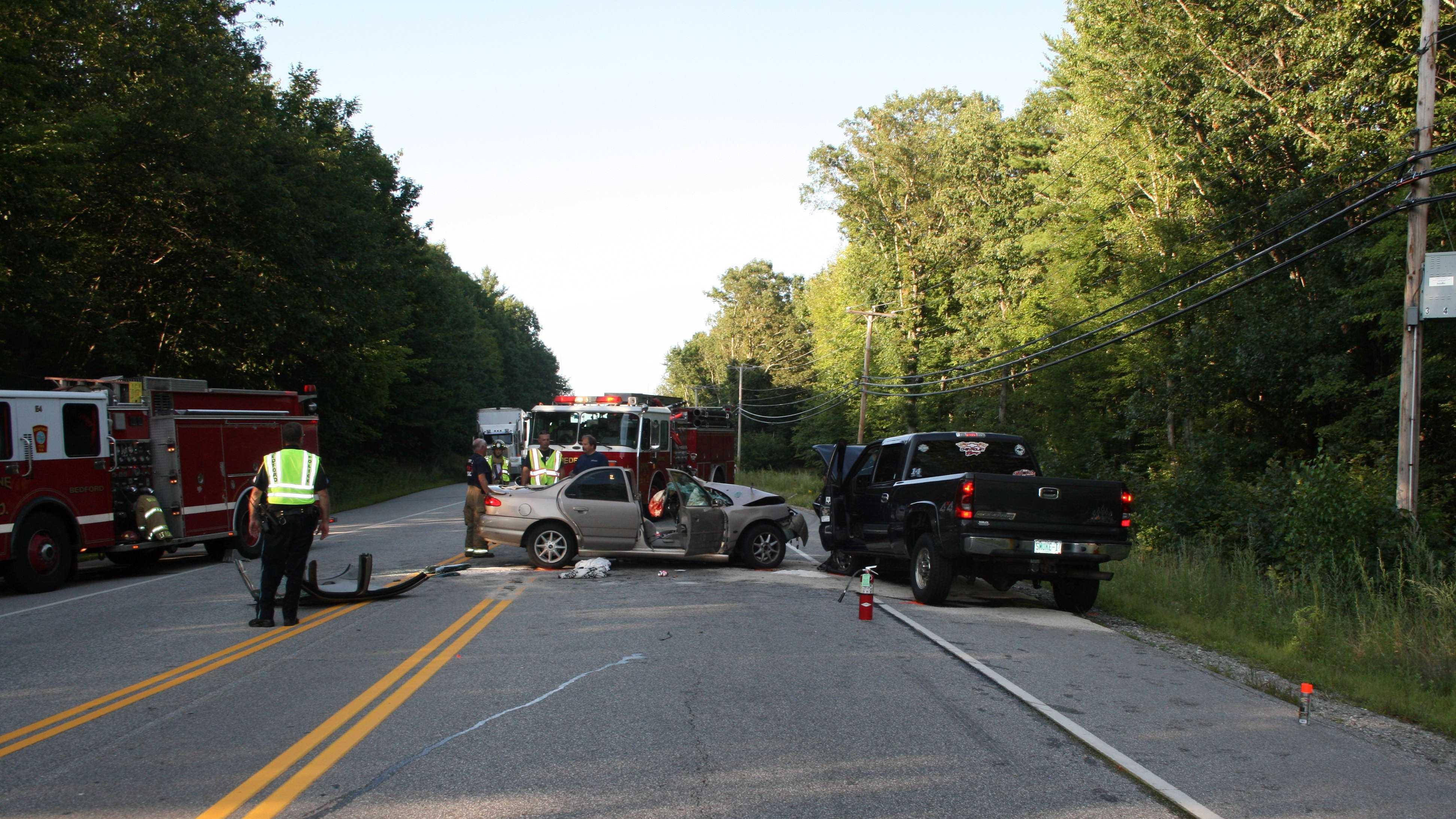 Bedford Route 101 Crash