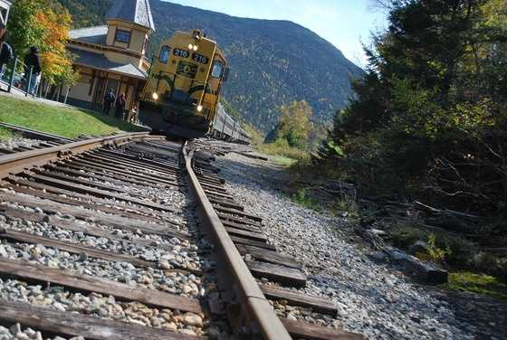 Take a ride on the scenic Conway Railroad