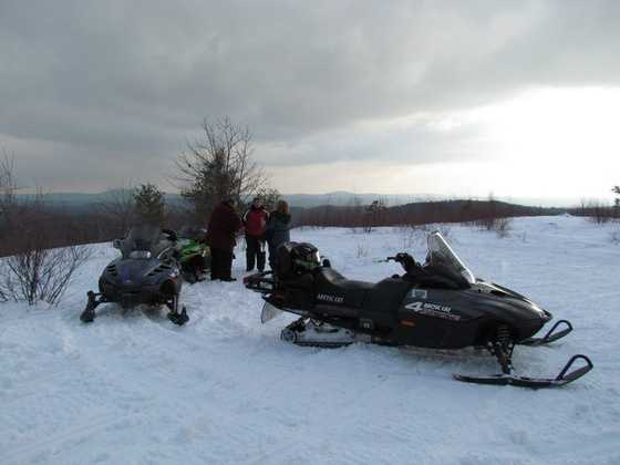 In the winter take a snowmobile trip up north, or in the warmer months hit the trails on an ATV