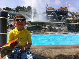 Cool off with your friends and family at Water Country