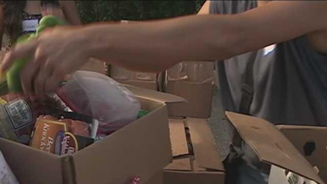 Market Basket donates food to local pantries