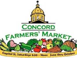 3) Concord Farmers' Market