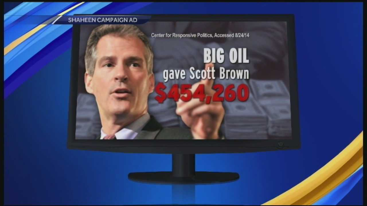 Shaheen campaign targets Brown
