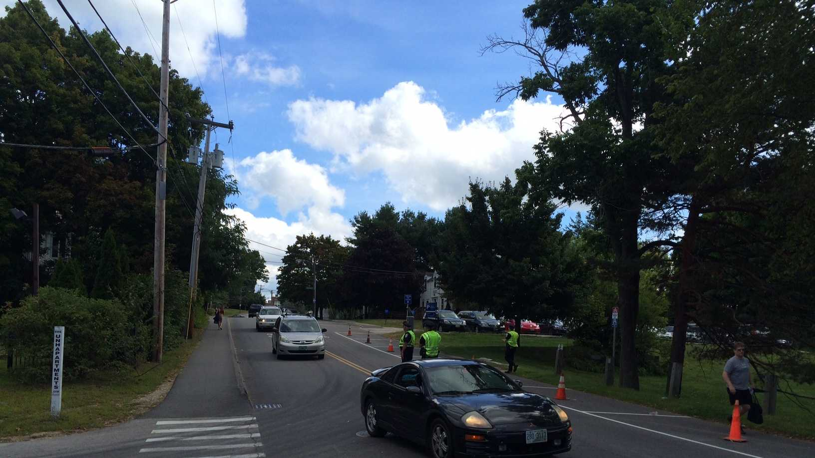 Durham police urge UNH students to be cautious, after last night's attempted abduction.