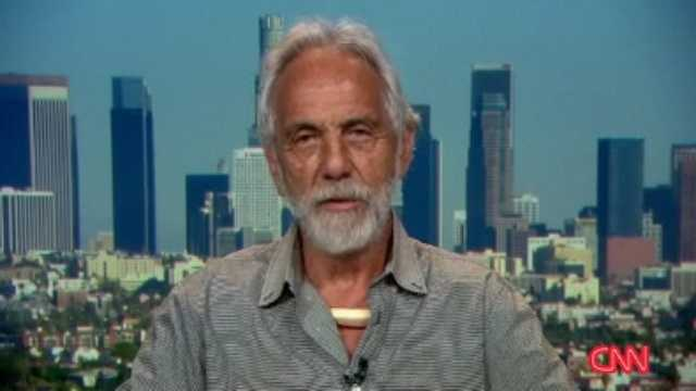 Tommy Chong of Cheech and Chong&#x3B; partnered with Peta Murgatroyd