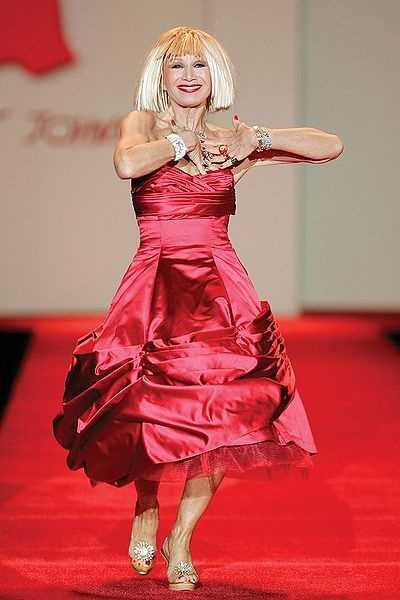 Designer Betsey Johnson&#x3B; partnered with Tony Dovolani
