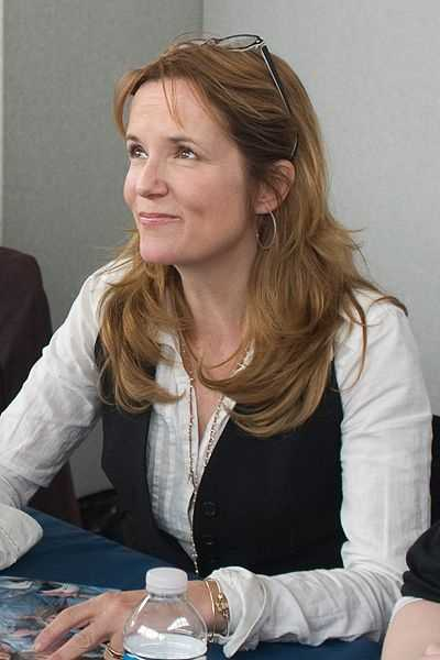Actress Lea Thompson&#x3B; partnered with Artem Chigvintsev