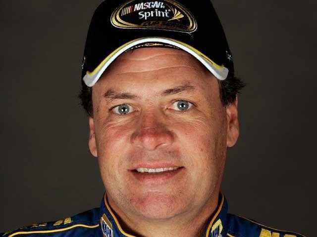 NASCAR driver Michael Waltrip&#x3B; partnered with Emma Slater