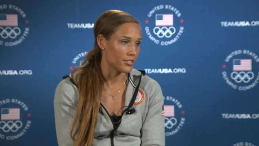 Olympian Lolo Jones&#x3B; partnered with Keo Motsepe
