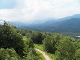 Zip along the Attitash Mountain Alpine Slide, which is the longest of its kind in North America.