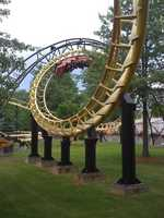 Defy gravity at Canobie Lake Park with fun for the whole family.