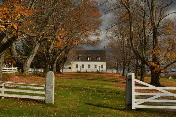 Visit Canterbury Shaker Village to learn more about shaker communities.